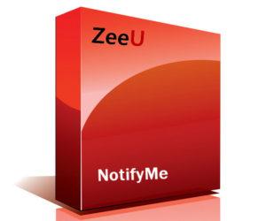 ZeeU NotifyMe