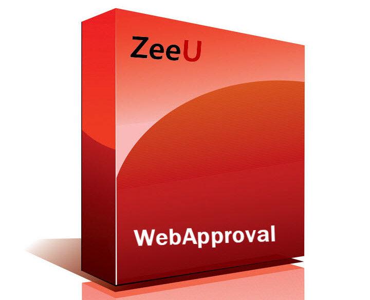 ZeeU WebApproval